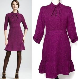 Nanette Lepore Purple Silk Queen of Wands Dress 4